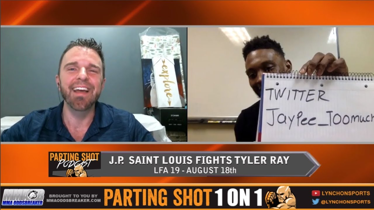 Roufusport product J.P. Saint Louis talks LFA debut August 18th & Extended Layoff