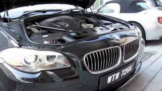 2011 BMW 523i Start-Up and Full Vehicle Tour Part 1