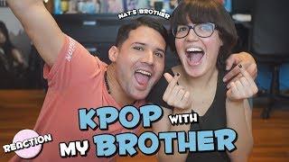 SHOWING MY BROTHER KPOP RED VELVET, BTS, IU, BIGBANG, PENTAGON