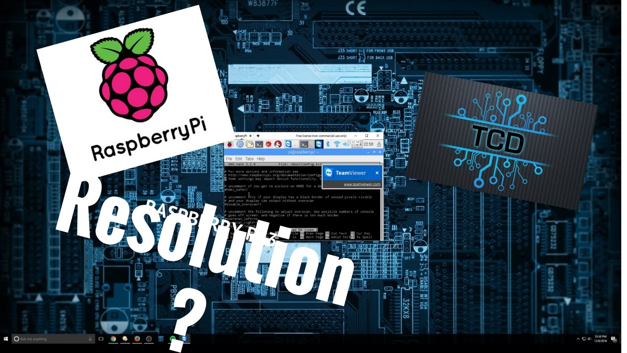 Changing the Raspberry Pi 3 Resolution