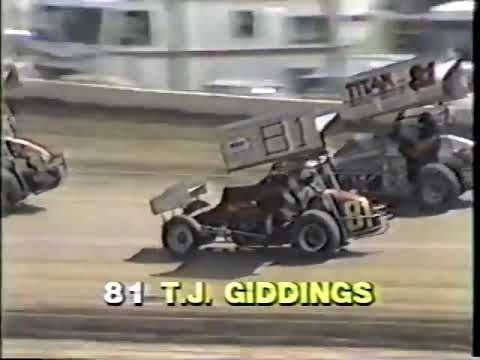 1982 - I-70 Speedway in Odessa, MO - World of Outlaws - Heat #1 Part 1 - Video 2 of 12