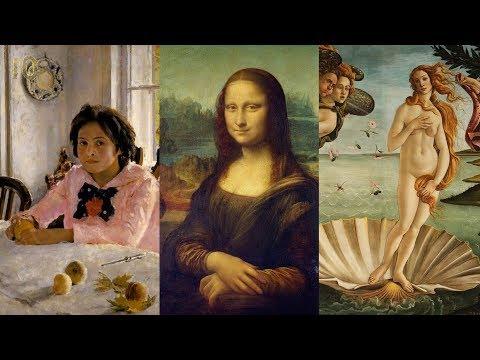 Драматические Судьбы Женщин с Знаменитых Картин: Мона Лиза Девочка с Персиками Рождение Венеры