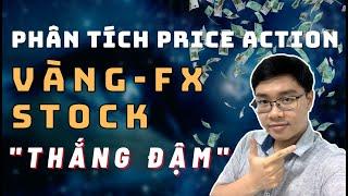 ✅Phân Tích VÀNG-FOREX-STOCK Theo Price Action - Thắng Đậm - 21/2 | TraderViet