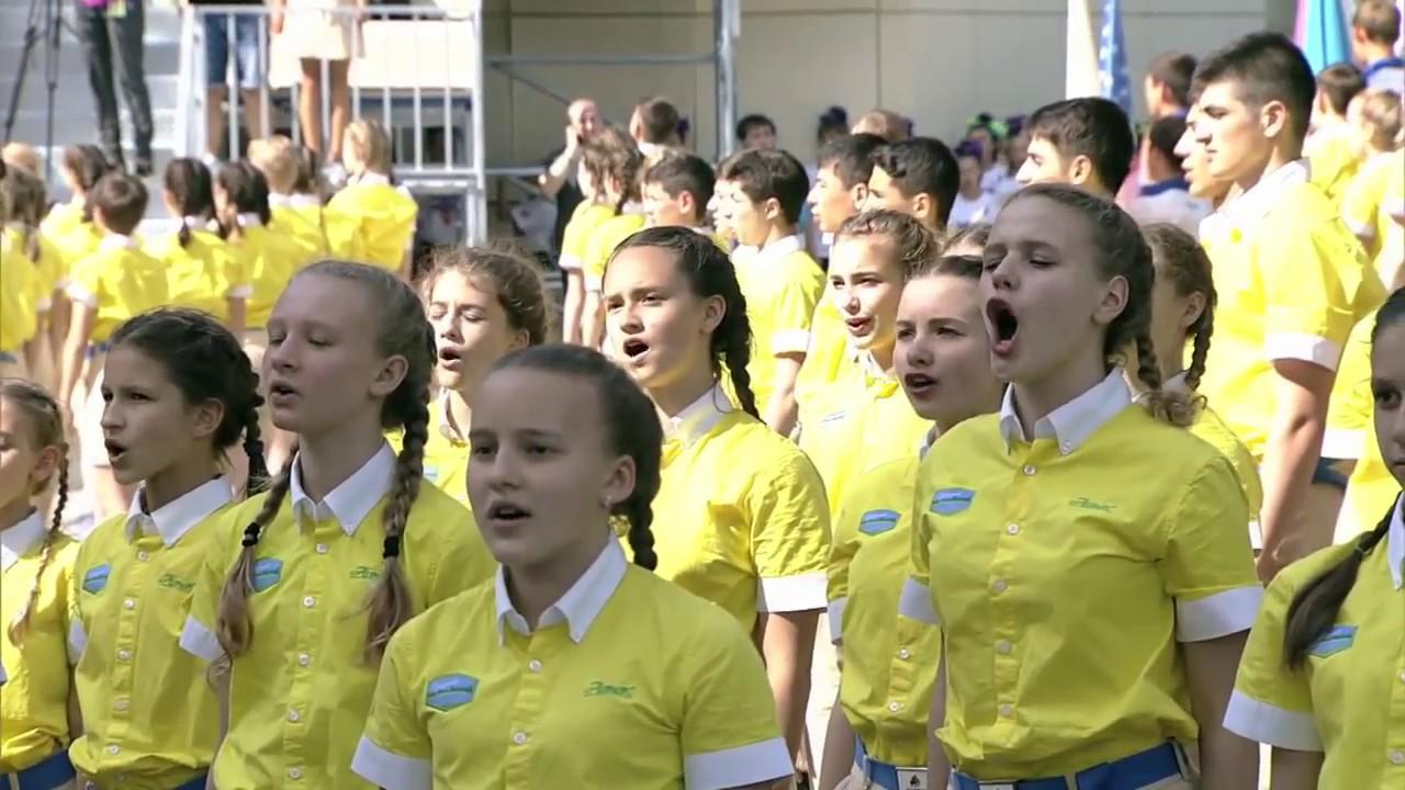 impressive russian children proudly