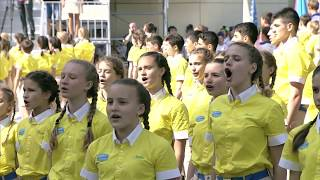 MPRESS VE Russian Children Proudly Sing the Russian Anthem ENG SUBS