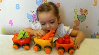 Паровозик из овощей