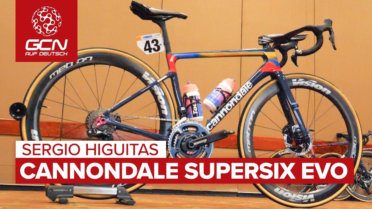 Sergio Higuitas Cannondale SuperSix EVO | Team EF Education First