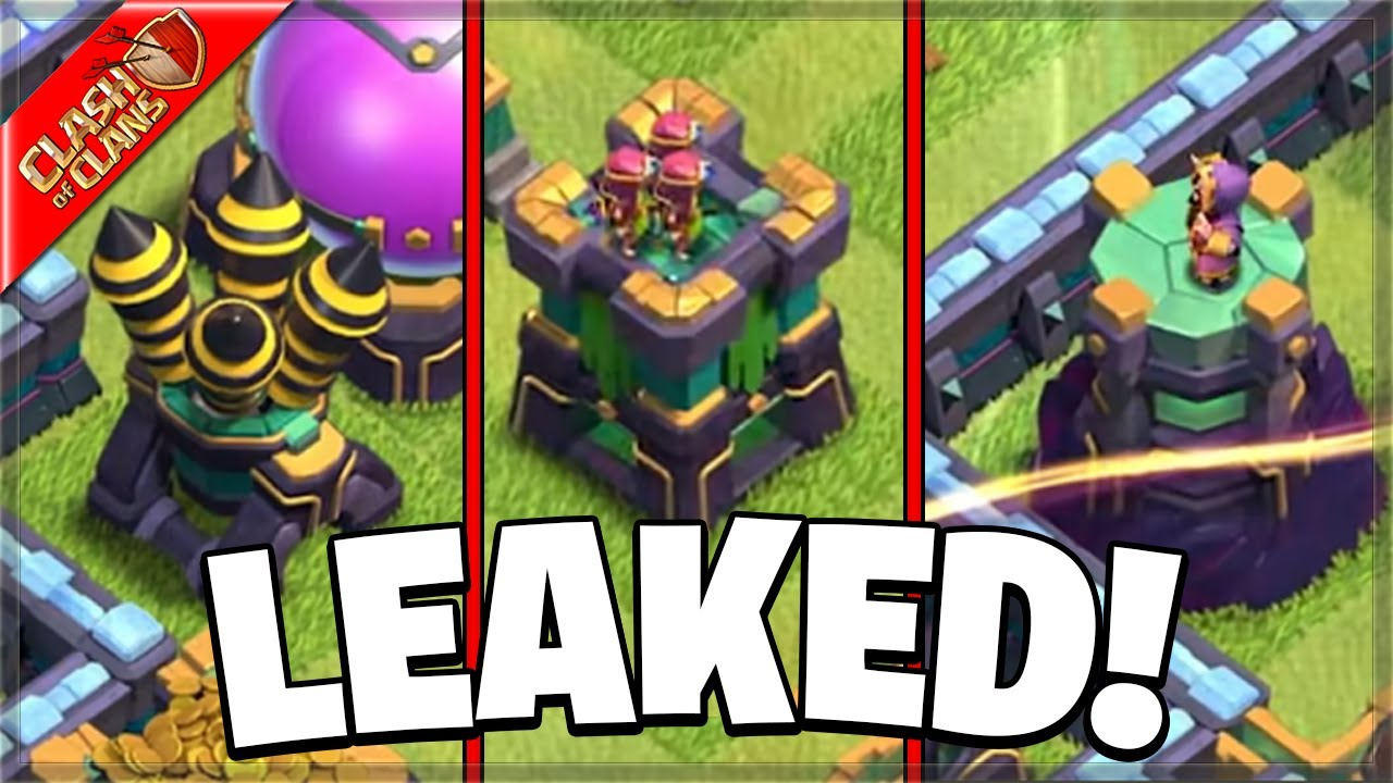 NEW LEAKED DEFENSES COMING TO CLASH OF CLANS?!