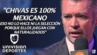"""Higuera: """"Lo que más le interesa al mexicano son las Chivas y la Virgen"""""""