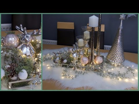 🎄❄Christmas Tablescape Decor - For Coffee or Dining table❄🎄