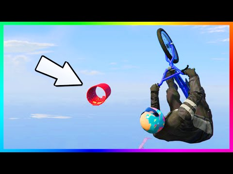 THE 100% IMPOSSIBLE RACE CHALLENGE - GTA ONLINE NEW EXTREMELY DIFFICULT CUSTOM STUNT RACES! (GTA 5)