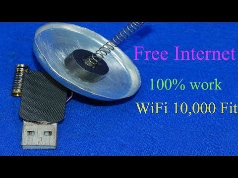 How to get free Internet / FREE INTERNET WiFi Strong Signal 10000 Fit on any Phone  you go 100% work