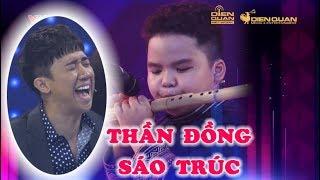 """TRẤN THÀNH, NGÔ KIẾN HUY """"BÁI PHỤC"""" Thần đồng sáo trúc mới chỉ học 2 THÁNG!!!"""