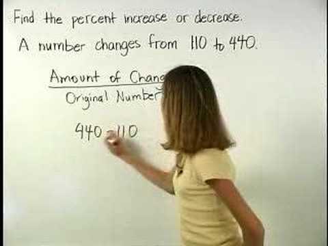 Percent Increase - MathHelp.com - Pre Algebra Help