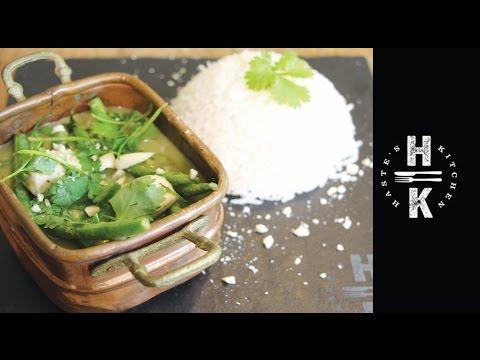 Super simple Thai Chicken Green Curry