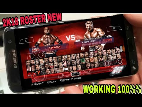 Download WWE 2K18 Patch For Android   PPSSPP Games   - YouTube