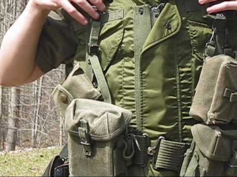 Basic Vietnam U.S. Web Gear Loadout
