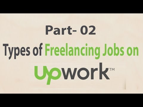 Types of Freelance Jobs of Freelance Graphic Design and Freelance Writing (Part - 2)