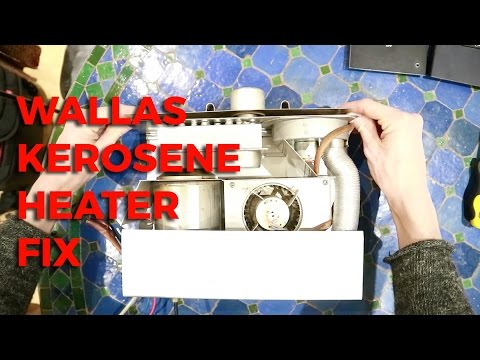 Servicing a Wallas Kerosene Heater (Complete)
