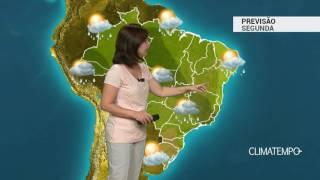 Previsão Brasil – Mais chuva forte