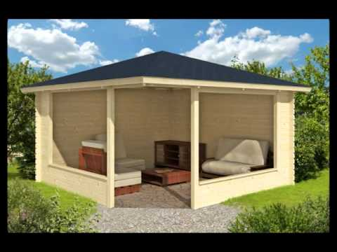 A range of magnificent wooden garden gazebos style to for Small garden shelter