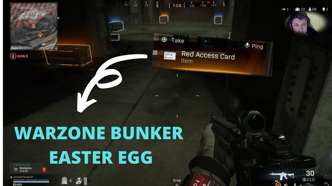 Secret Vault Easter Egg Call Of Duty Warzone Red Access Card Youtube