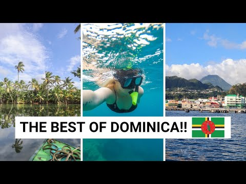 THINGS TO DO IN DOMINICA & TIPS FOR VISITING! | Dominica Vlo