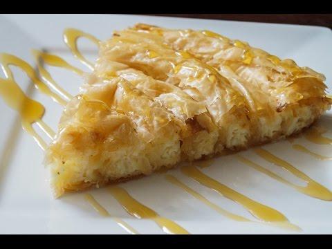 Рецепт: Болгарский яблочный пирог на
