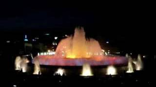 Barcelona Spain Magic Fountain