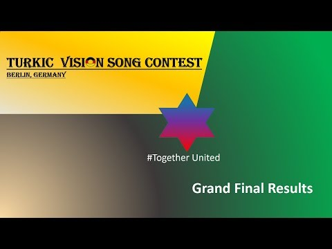 Turkic Vision Song Contest 4 Grand Final Results