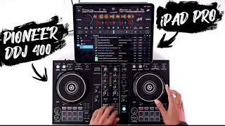 iPad DJ Mix - Pioneer DDJ 400 & Algoriddim DJay