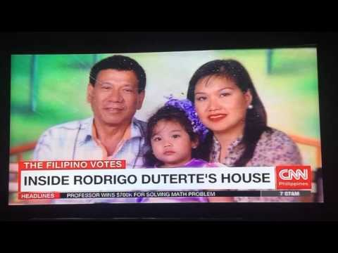 CNN Philippines tours Rodrigo Duterte's humble abode