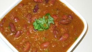 Rajma Masala (kidney Beans Curry)