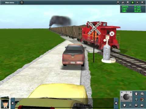 I made wig wag grade crossing sounds for Trainz