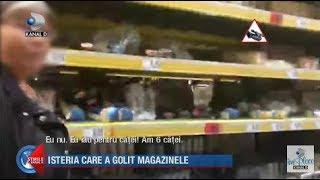 Stirile Kanal D (26.02.2020) - Criza de isterie! Romanii au golit magazinele!