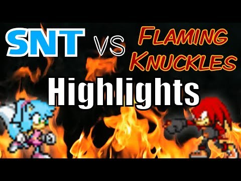 Old Sonic Sprite Comics FINALE - SNT vs Knuckles