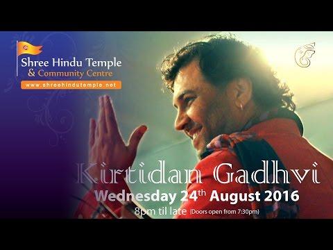 Kirtidan Gadhvi - Janmashtami Special, Gujarati Lok Dairo At Shree Hindu Temple