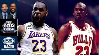 The Odd Couple - Does LeBron James' Move Ahead Michael Jordan with Fourth Championship?