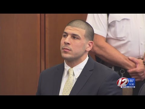 Ex-NFL star Aaron Hernandez appears in court for double slaying