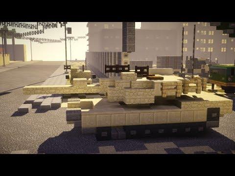 Minecraft M1A2 Abrams Tank (v3.0) Tutorial