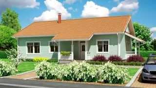видео Проекты дачных домов с мансардой и верандой 6х6 — структура