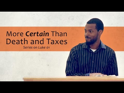 More Certain Than Death and Taxes - Tawfiq Cotman-El