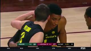 Oregon at Arizona State  NCAA Men's Basketball January 11, 2018