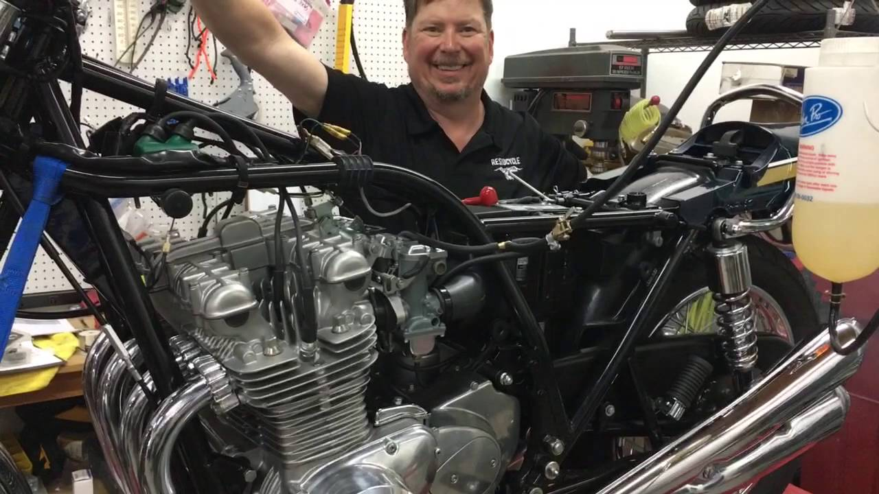 Kawasaki Z900 Wiring Loom Enthusiast Diagrams Diagram First Fire Of The Z1 900 Restoration Youtube 2017