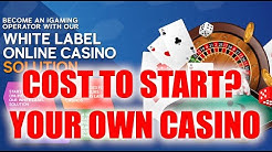 Make $50,000 PER MONTH - Start Your Own Online Casino Cost? (Revealed)