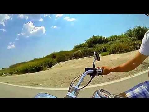 Balkan moto Trip Poland - Greece 2014 Honda Shadow