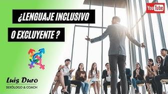 Imagen del video: ¿El lenguaje inclusivo realmente tiene que ver con la igualdad?