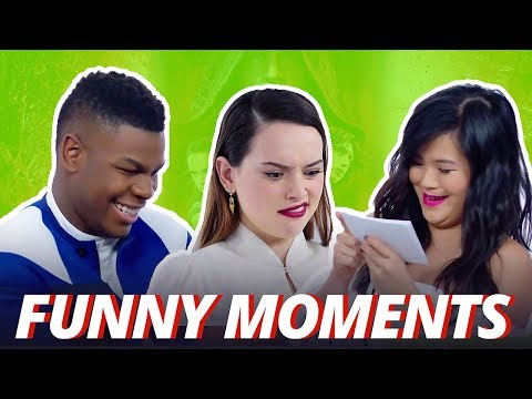 Download Youtube: Star Wars Cast Funny Moments 2017 (The Last Jedi)