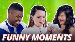 Star Wars Cast Funny Moments 2017 (The Last Jedi)