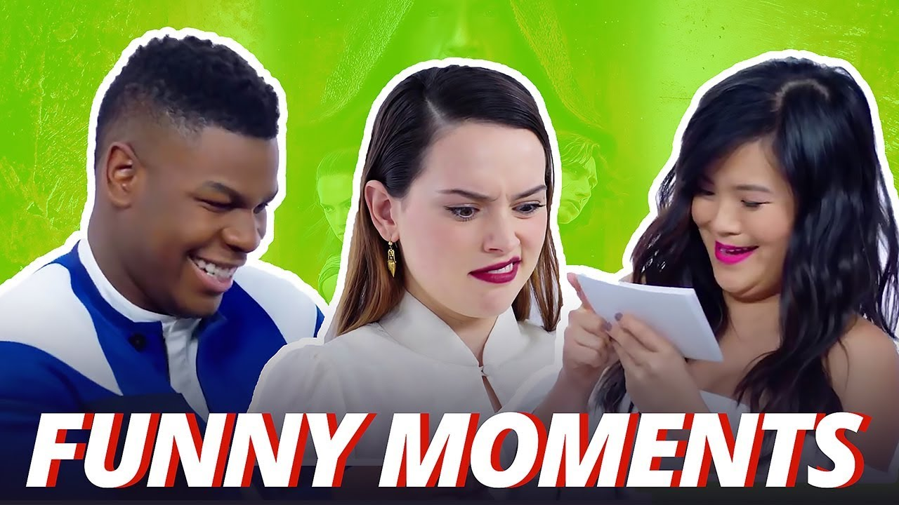 Star Wars Cast Funny Moments 2017 (The Last Jedi)
